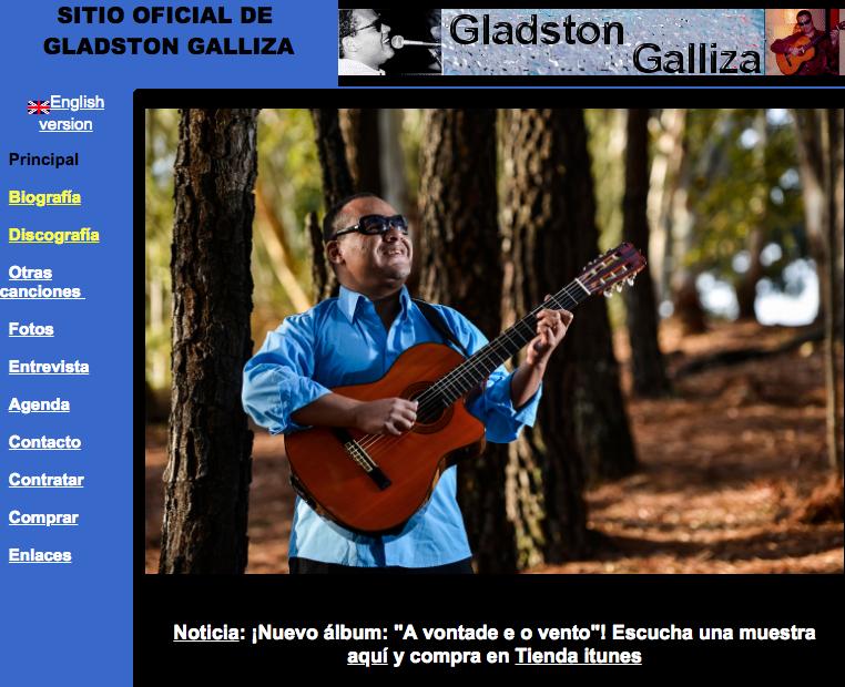 Gladston Galliza Website